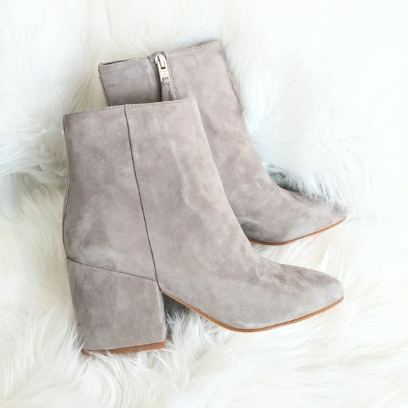 New Sam Edelman Taye Suede Ankle Boots